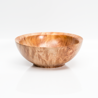 Figured Maple Serving Bowl