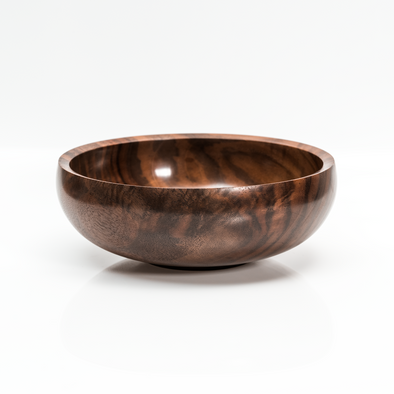 Figured Claro Walnut Calabash