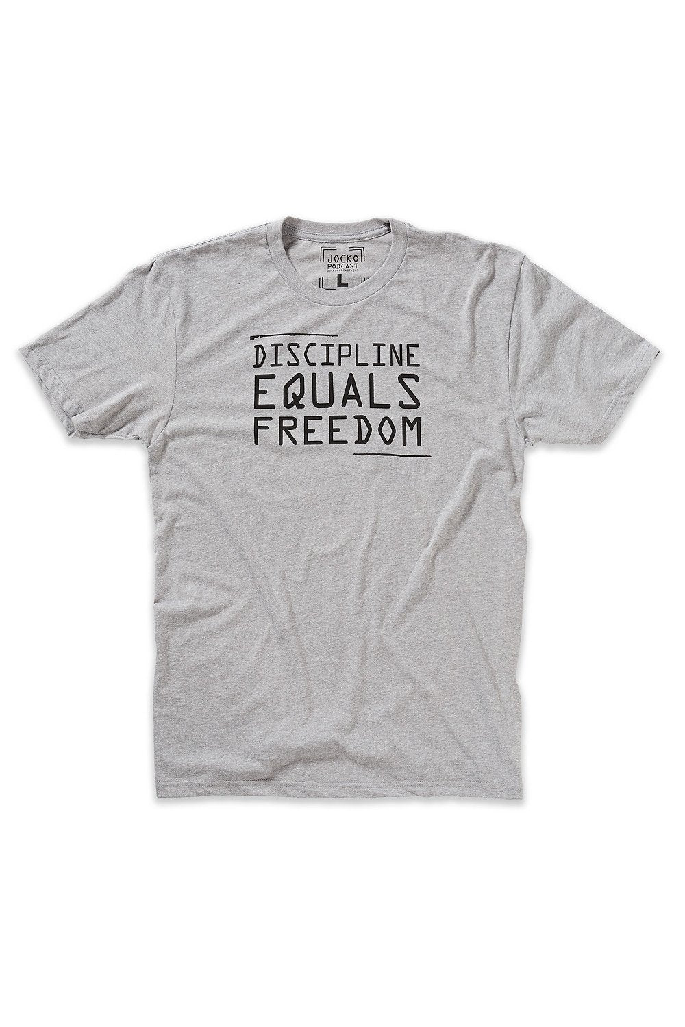 DISCIPLINE EQUALS FREEDOM TEE SHIRT
