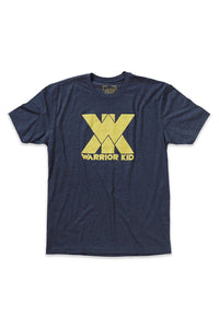 WARRIOR KID TEE SHIRT- YOUTH (LIGHT GREY)