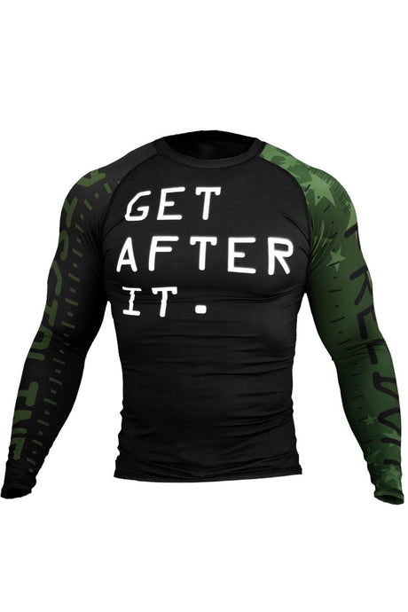 GET AFTER IT - RASH GUARD