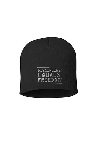 BEANIE - DISCIPLINE EQUALS FREEDOM