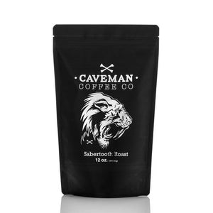 Caveman Coffee Co.- Sabertooth (coffee beans, dark roast)