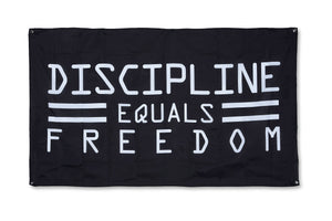 FLAG - DISCIPLINE EQUALS FREEDOM