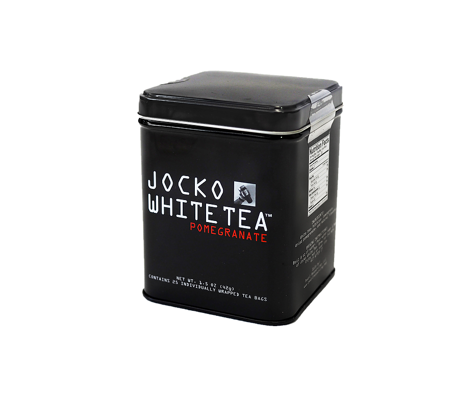 JOCKO WHITE TEA- Tin with 25 bags