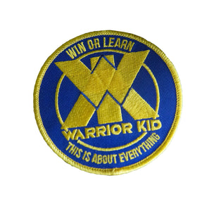 WARRIOR KID PATCH 3.5""
