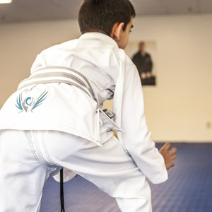 ORIGIN- WHITE PRODIGY WARRIOR KIDS GI