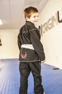 ORIGIN- BLACK PRODIGY WARRIOR KIDS GI