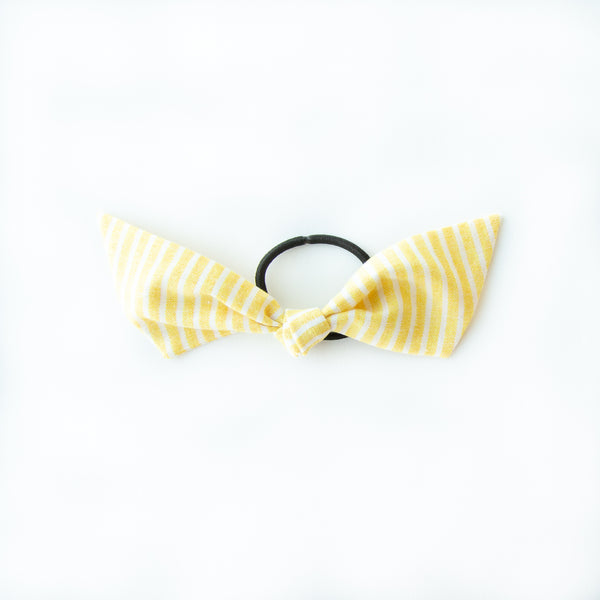 June - Yellow Stripe Modern Knot