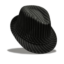 Striped Topper Fedora