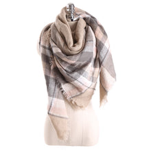 Mulberry Plaid Scarf