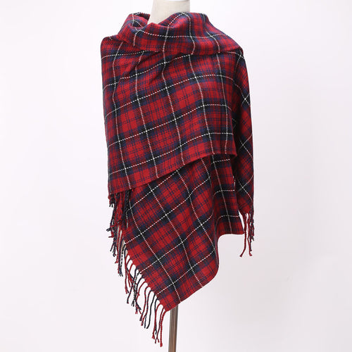 Plaid Varietal Scarves