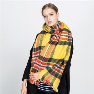 Milton Plaid Varietal Scarves