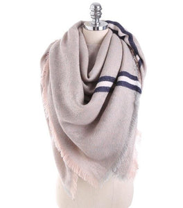 Collegiate Stripe Scarf