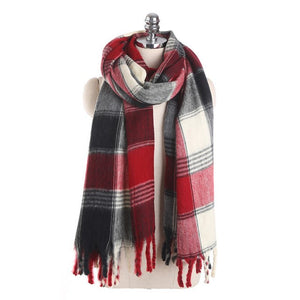 Dunberry Plaid Scarf