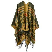 Large Aztec Cross Poncho