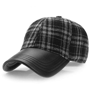 Flannel & Leather BB Cap