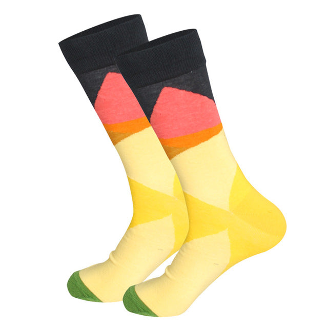 Tequila Sunrise Socks