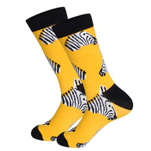 Golden Zebra Socks
