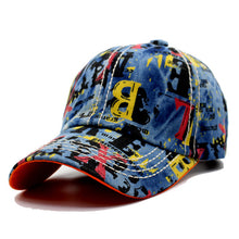 Graffiti Print BB Cap