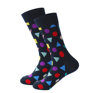 Groovy Triangle Socks