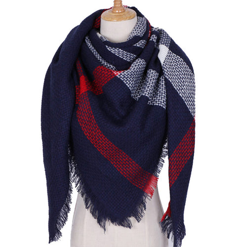 Tristan Plaid Scarf
