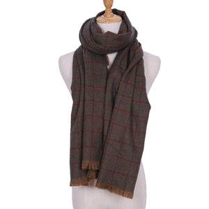 Normandy Plaid Scarf