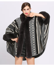 Luxe Fur Poncho