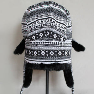 Black Nordic Trooper Hat-hat-Skullie Station