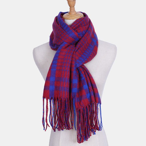 Masai Plaid Scarf