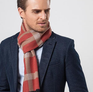 New Yale Plaid Scarf