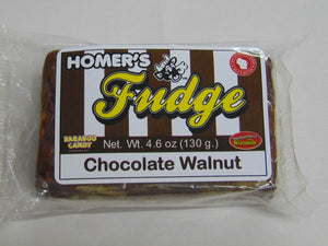 Homer's Chocolate Walnut Fudge