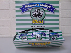 Milk Chocolate Mint Meltys 72ct Dispenser Box