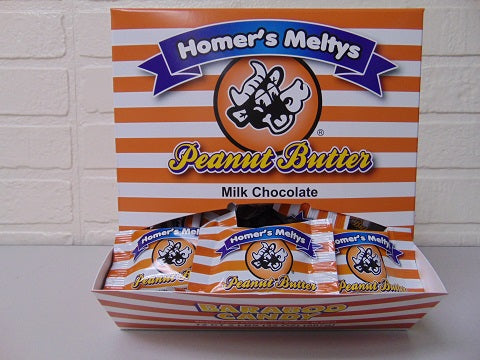 Milk Chocolate Peanut Butter Melty 72ct Dispenser Box