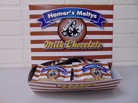 Milk Chocolate Meltys 72ct Dispenser Box