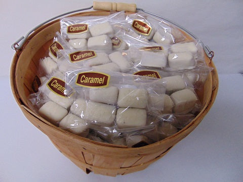 White Chocolate covered Vanilla Caramels