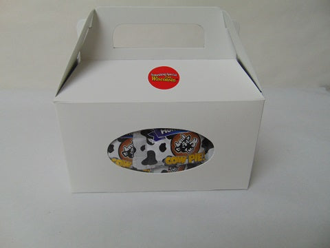 Milk Chocolate Mini Cow Pies 24ct White Tote Box