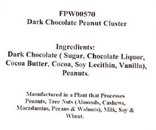 Dark Chocolate Peanut Clusters