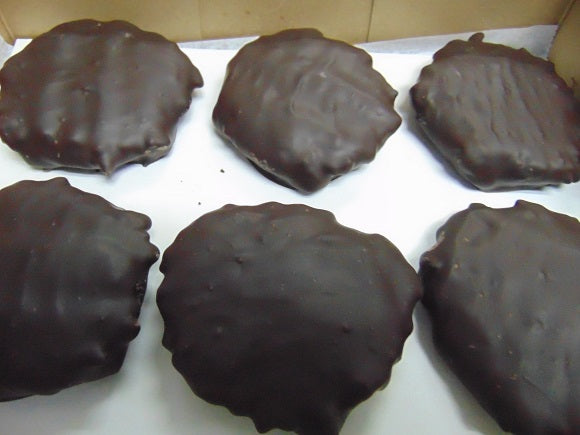 Dark Chocolate Jumbo Peanut Butter Cow Pies