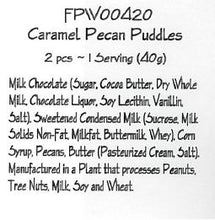 Milk Chocolate Caramel Pecan Puddles