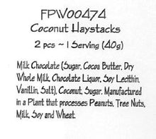 Milk Choc Coconut Haystacks