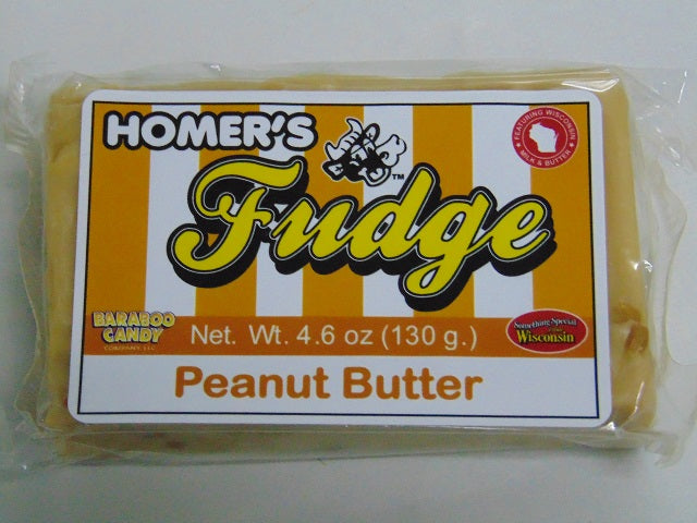 Homers Peanut Butter Fudge 3-Pack