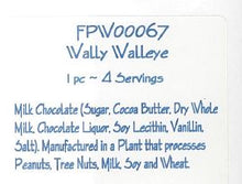 Wally Walleye Solid Milk Chocolate