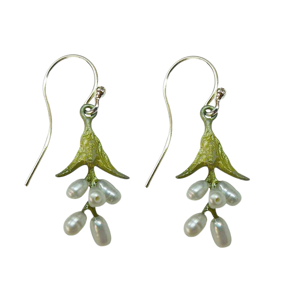 Michael Michaud Retired Sweet Basil Wire Earrings 3089 Retail Price $66