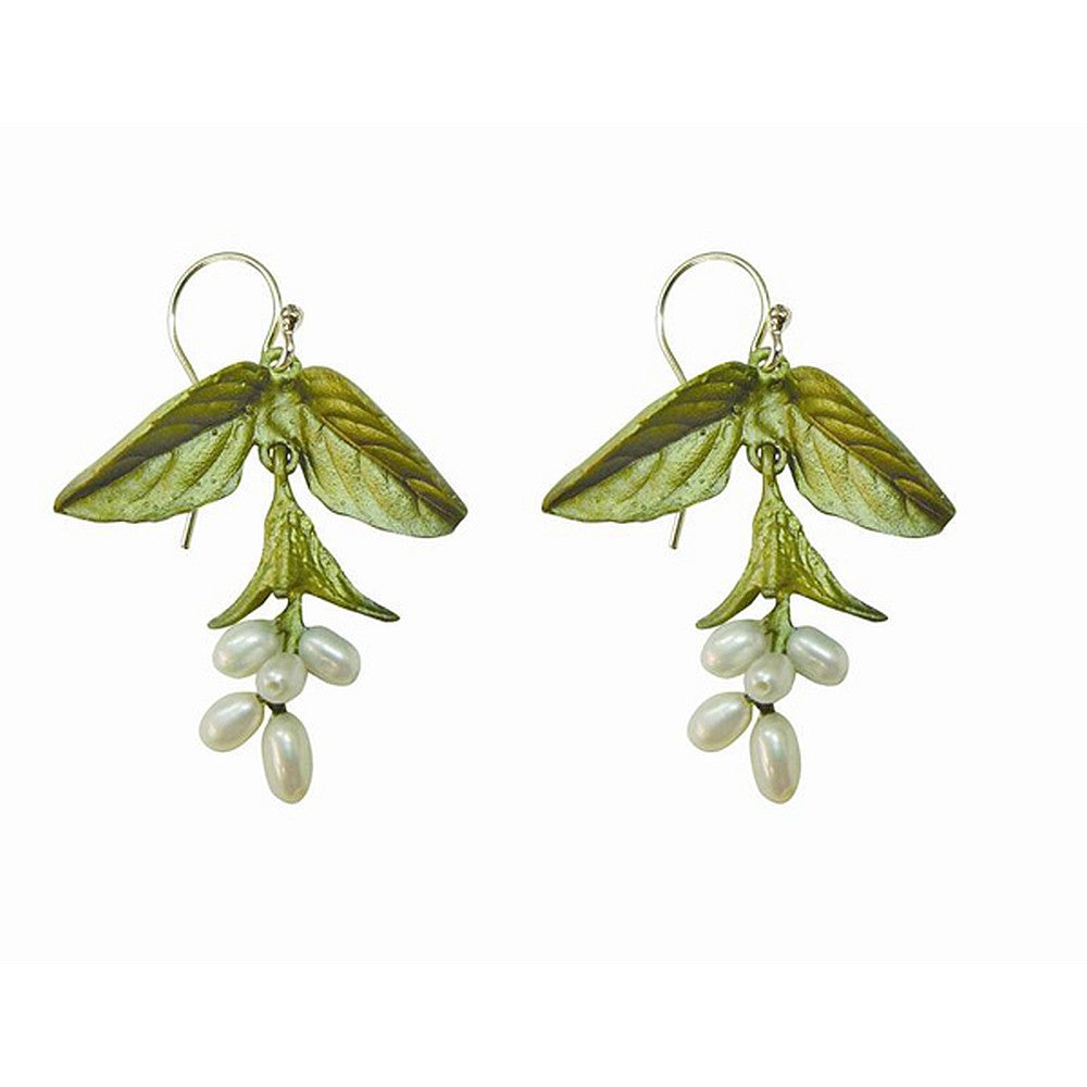 Michael Michaud Retired Sweet Basil Wire Earrings 3090 Retail Price $89