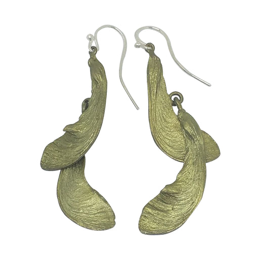 Michael Michaud Retired Samara Wire Earrings 3141 BZ Retail Price $56