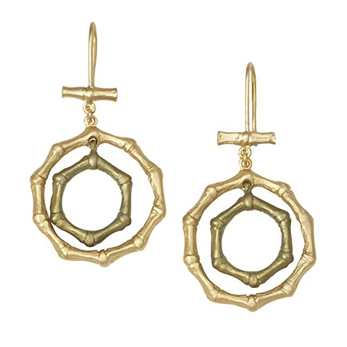 Michael Michaud Retired Bamboo Wire Earrings 3190 Retail Price $99