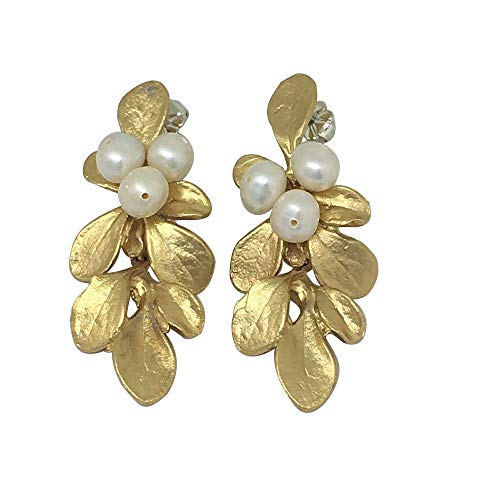 Michael Michaud Retired Barberry Drop Post Earrings 3223 BZG Retail $89