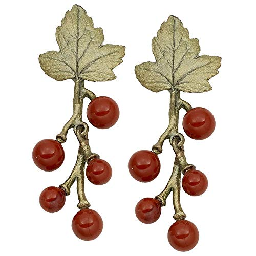 Michael Michaud Retired Gooseberry Post Dangle Earrings 3289 Retail Price $74
