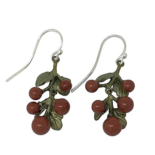 Michael Michaud Retired Gooseberry Long Wire Earrings 3291 Retail Price $73